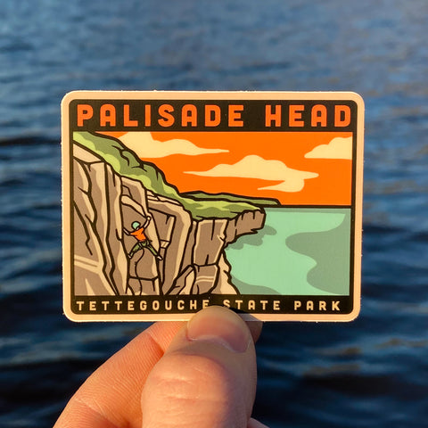 Palisade Head Climbing - Superior Crack Sticker - Humble Apparel Co
