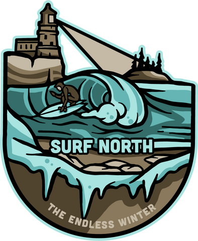 Surf North Magnet, Magnet - Humble Apparel Co