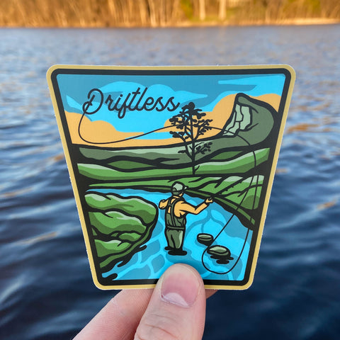 The Driftless Area Sticker - Humble Apparel Co