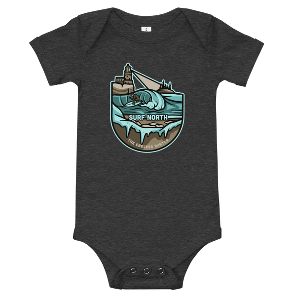 Surf North - Baby One Piece Tee - Humble Apparel Co