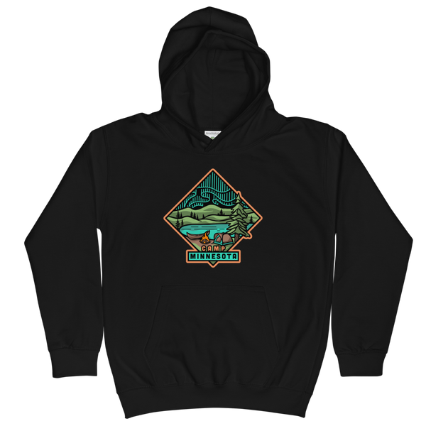 Camp Minnesota - Hoodie (Kids), Sweatshirt - Humble Apparel Co