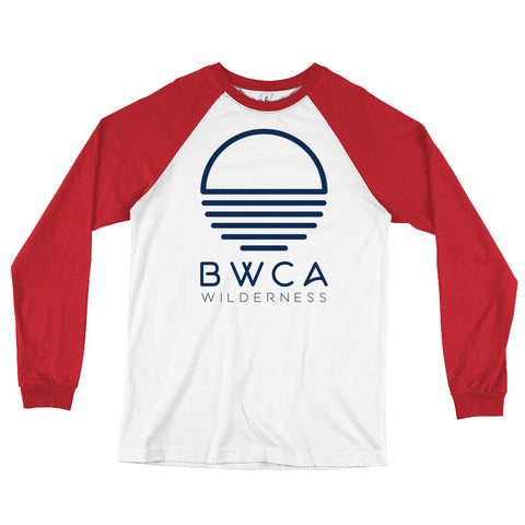 BWCA Sunset Wilderness Long Sleeve Baseball T-Shirt