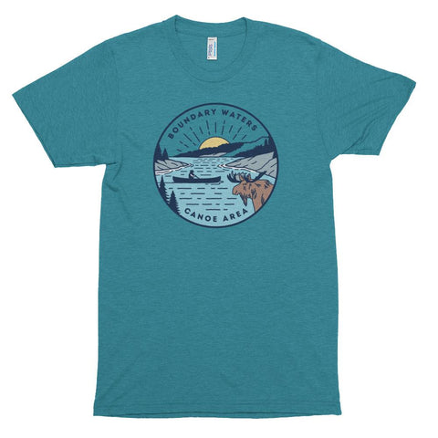 Boundary Waters - Basswood Lake T-Shirt, Shirts - Humble Apparel Co