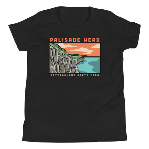 Palisade Head Climbing - Youth T-Shirt, Shirts - Humble Apparel Co