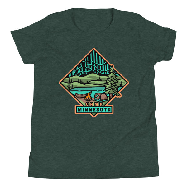 Camp Minnesota - Youth T-Shirt - Humble Apparel Co