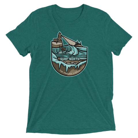 Surf North T-Shirt (Tri-Blend), Shirts - Humble Apparel Co