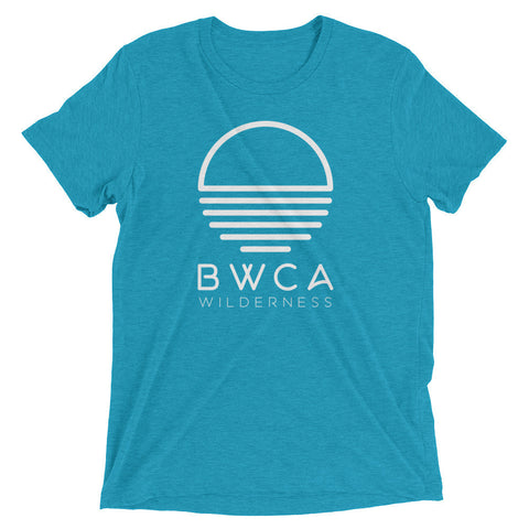 BWCA Sunset Wilderness T-Shirt (Tri-Blend) - Teal - Humble Apparel Co