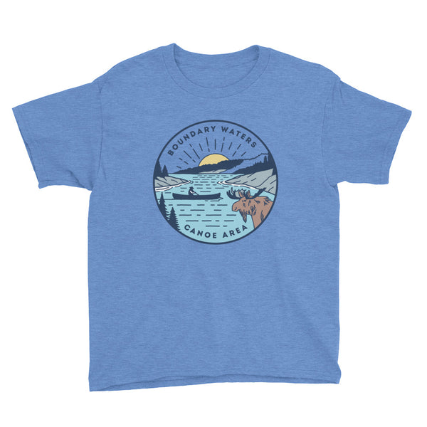 Boundary Waters - Basswood Lake Youth T-Shirt, Shirts - Humble Apparel Co