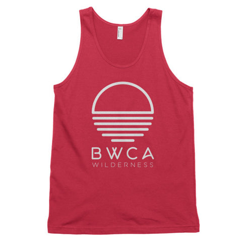 BWCA Sunset Wilderness Tank Top - Red, Shirts - Humble Apparel Co