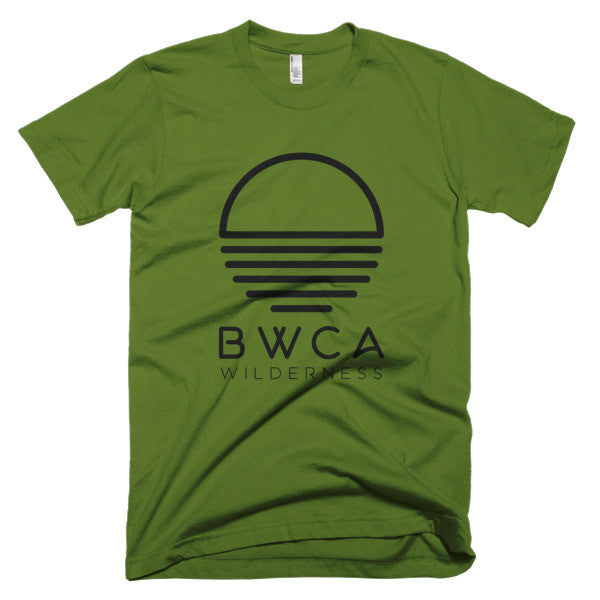 BWCA Sunset Wilderness T-Shirt - Olive, Shirts - Humble Apparel Co