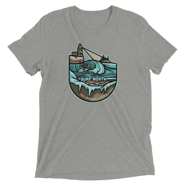 Surf North T-Shirt (Tri-Blend) - Humble Apparel Co