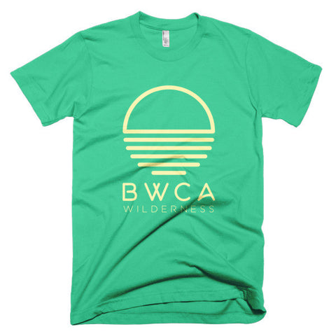 BWCA Sunset Wilderness T-Shirt - Mint, Shirts - Humble Apparel Co