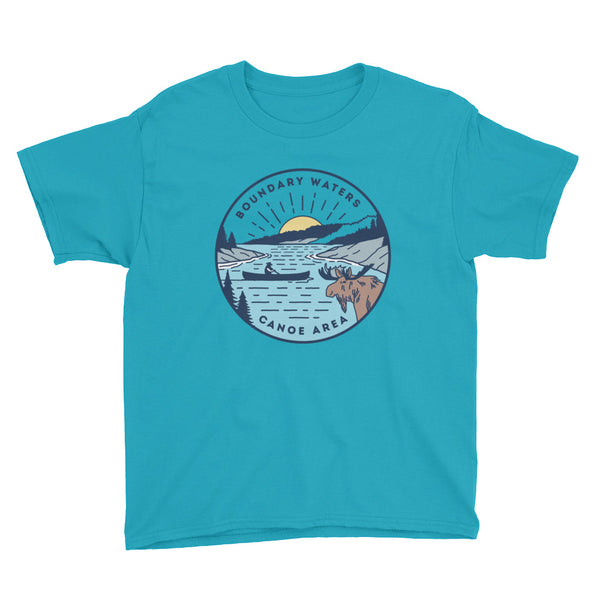 Boundary Waters - Basswood Lake Youth T-Shirt - Humble Apparel Co