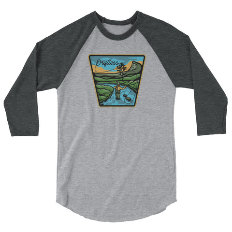 Driftless 3/4 sleeve raglan shirt,  - Humble Apparel Co