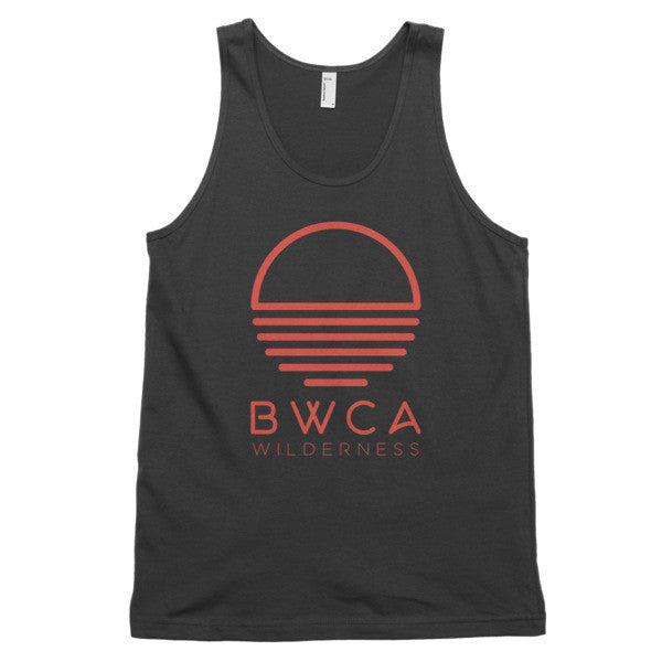 BWCA Sunset Wilderness Tank Top - Black, Shirts - Humble Apparel Co