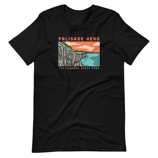 Palisade Head Climbing - Superior Crack T-Shirt - Humble Apparel Co