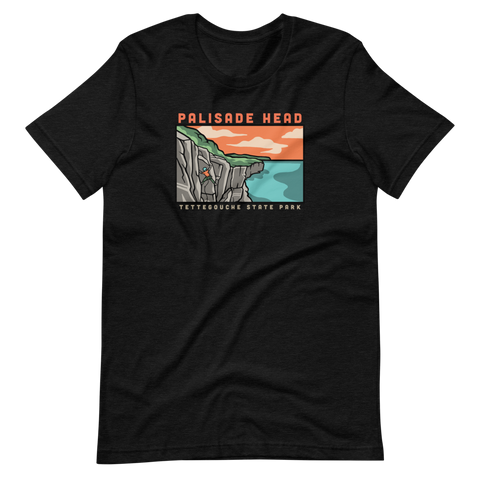 Palisade Head Climbing - Superior Crack T-Shirt, Shirts - Humble Apparel Co