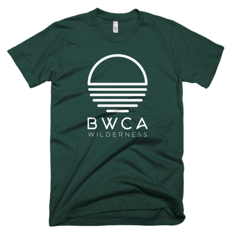 BWCA Wilderness Sunset T-Shirt - Forest Green - Humble Apparel Co
