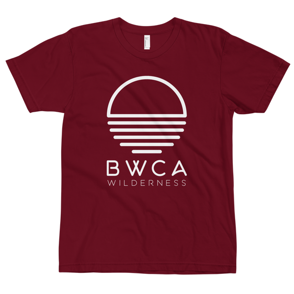 BWCA Sunset Wilderness T-Shirt - Cranberry - Humble Apparel Co