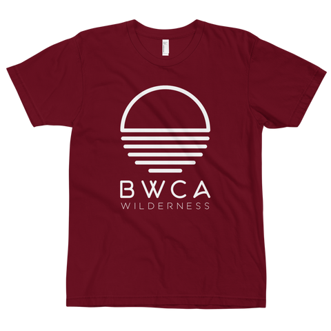 BWCA Sunset Wilderness T-Shirt - Cranberry, Shirts - Humble Apparel Co