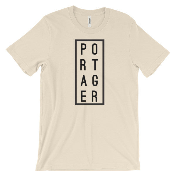 Portager T-Shirt - Cream, Shirts - Humble Apparel Co