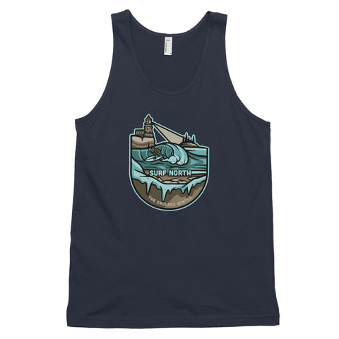Surf North - Tank Top - Humble Apparel Co