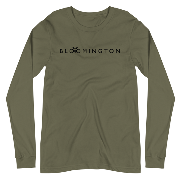 Bike Bloomington Long Sleeve Tee, Sweatshirt - Humble Apparel Co