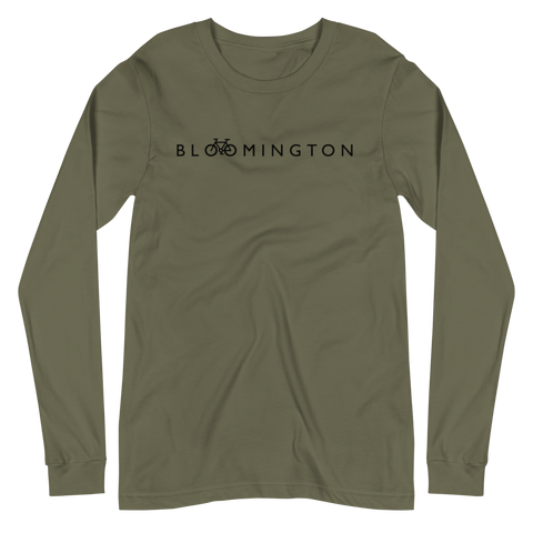 Bike Bloomington Long Sleeve Tee - Humble Apparel Co