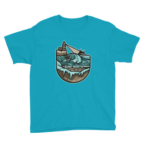 Surf North - Youth T-Shirt - Humble Apparel Co