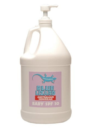 Blue Lizard Australian SPF 30 Baby SUNSCREEN SPF 30+ (1-Gallon Bottle with Pump) Standard Packaging 1 gallon