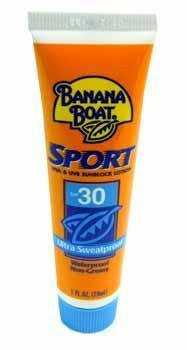 Banana Boat Sport Sunscreen SPF 30 travel size 1 oz (case of 24)