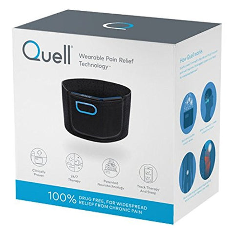 Quell Wearable Pain Relief Other Wearable for iOS and Android - Black
