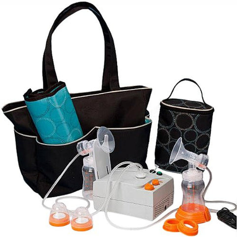 Hygeia EnJoye LBI Breast Pump Black Bag QTY: 1