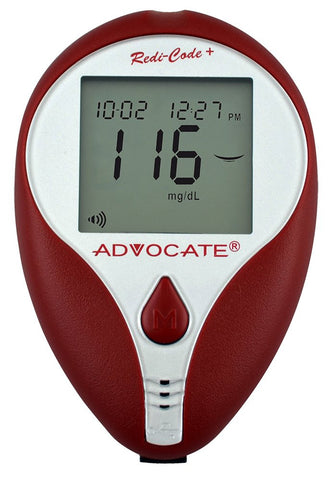 Advocate Redi Code Plus Speaking Blood Glucose Monitoring Kit One Color One Size