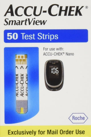 Accu-Chek SmartView 100 Test Strips 100 Pack