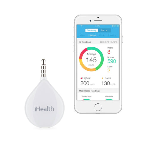 iHealth Align Glucometer for Apple and Android