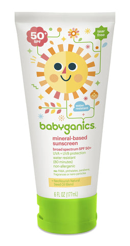 Babyganics 50 Spf Sunscreen Lotion 6 oz 6 Ounce