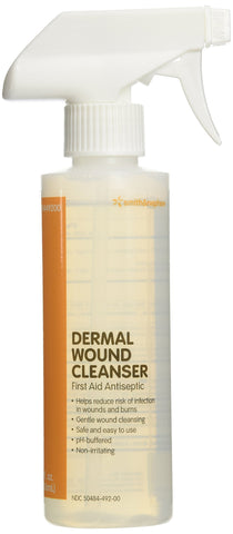 Dermal Wound Skin / Wound Cleanser 8 fl oz Spray Bottle QTY: 1