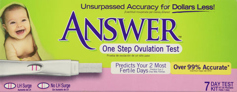 Answer One Step Ovulation Test 1 Kit