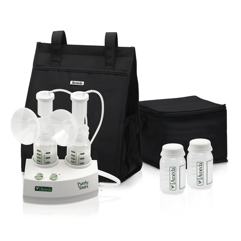 Ameda Purely Yours Double Electric Breast Pump White