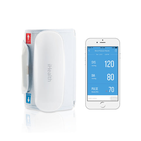iHealth Feel Wireless Blood Pressure Monitor for Apple and Android (Standard Cuff) Standard Cuff