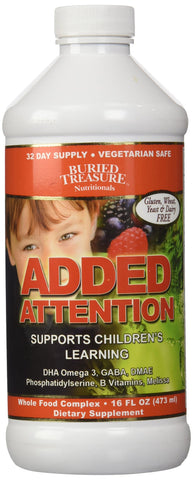 Buried Treasure Added Attention Liquid Vitamin 16 Ounce Bottle