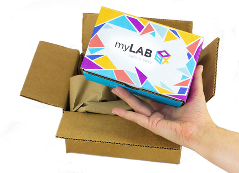 myLAB Box at Home STD Test For Men Discreet Mail In Kit Lab Certified Results In 3-5 Days (Trichomonas's)12601 Trichomoniasis