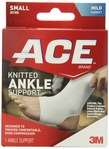 ACE Knitted Ankle Support Small (Pack of 2)
