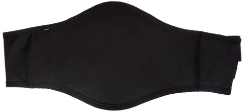 Back-A-Line Back Support with Lumbar Pad Large Black