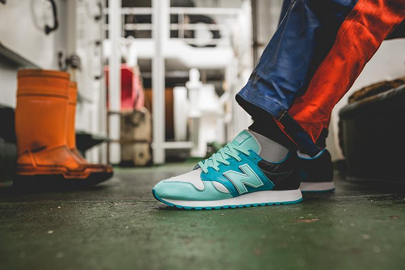 "New Balance U520 x Hanon ""Fishermans Blues"""