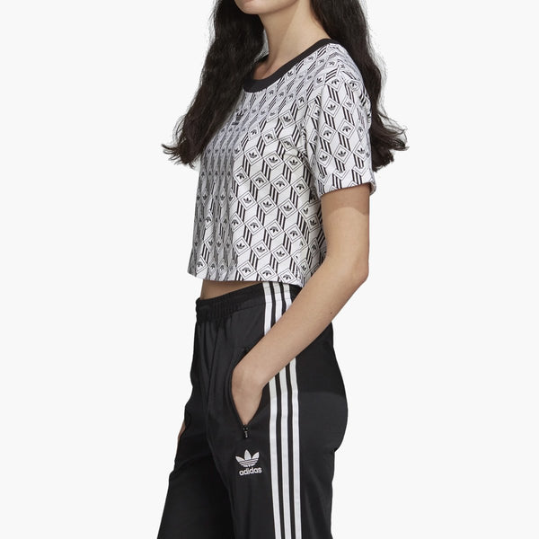 Clothing adidas Originals Cropped T-Shirt adidas Originals