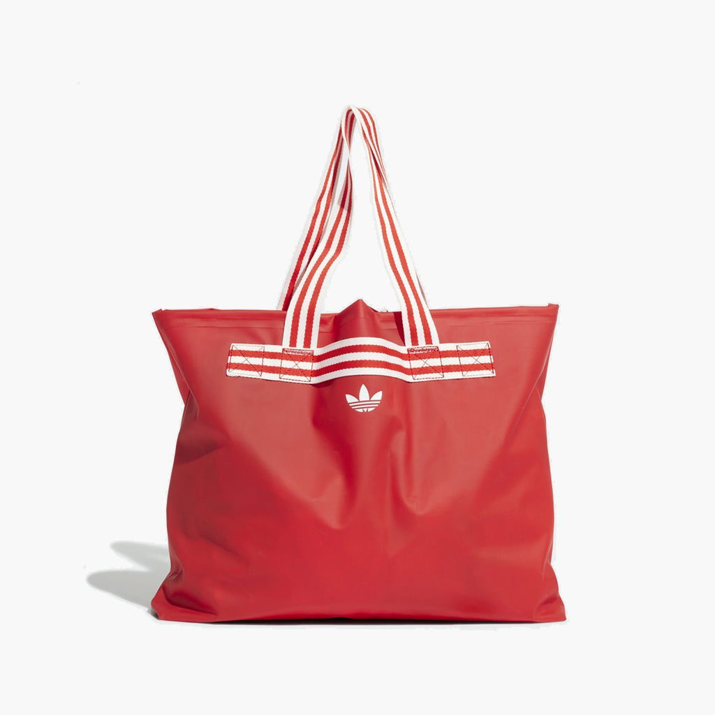 Accessories One Size adidas Originals FIORUCCI Stripe Tote Bag EA1626-red-One Size adidas Consortium
