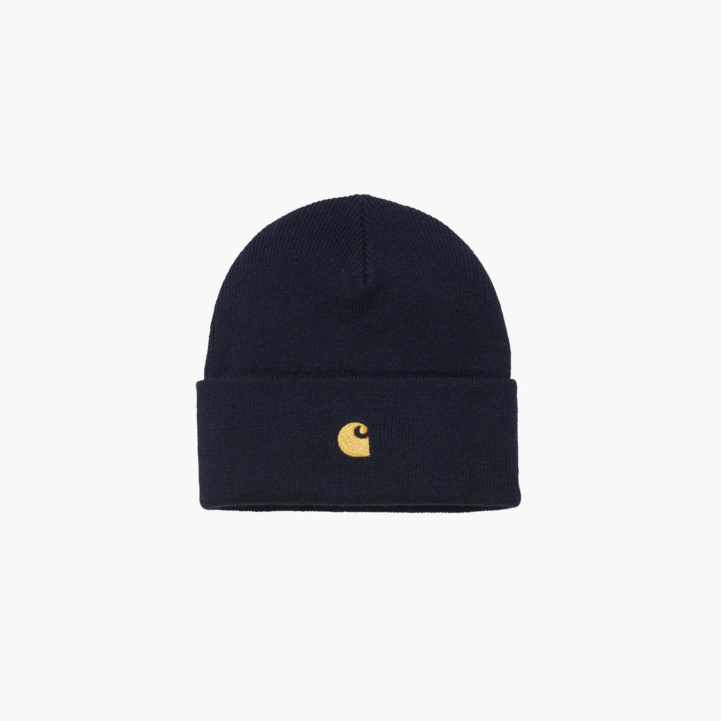Accessories One Size Carhartt Chase Beanie I026222.06-Navy-One Size Carhartt