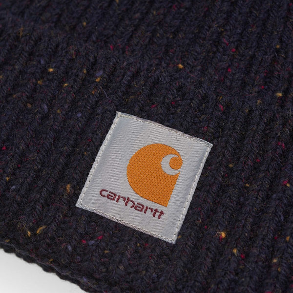 Accessories Navy / One Size Carhartt WIP Anglistic Beanie I013193.06 VE.00-Navy-One Size Carhartt
